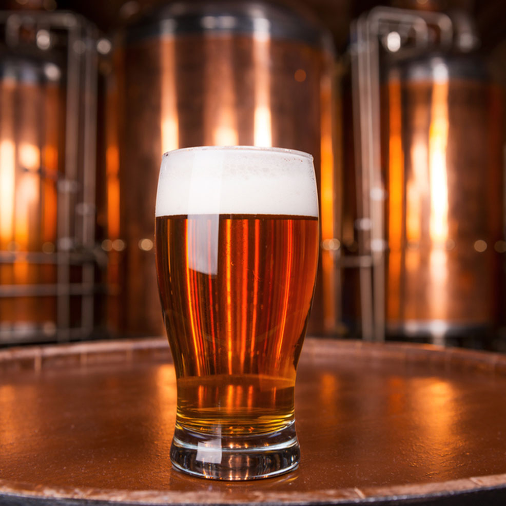 Brewery Spotlight image of beer glass