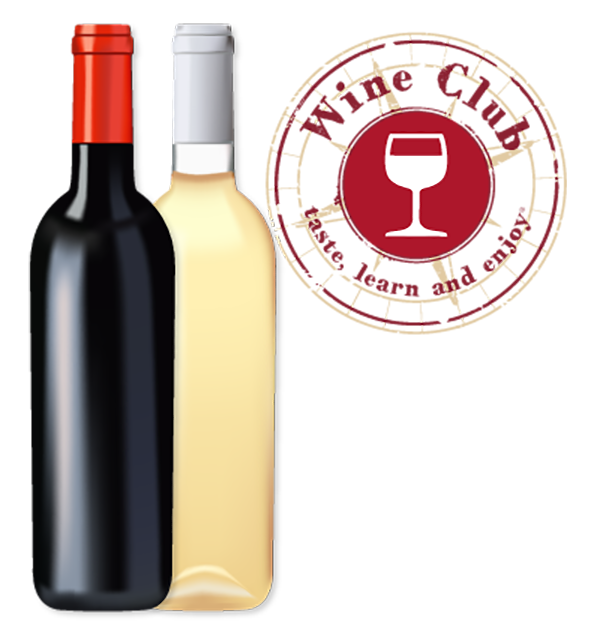 Taste Wine club bottles