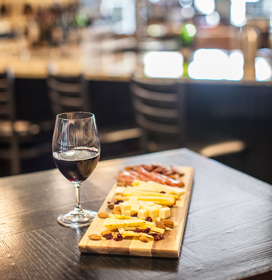 wine and charcuterie pairing