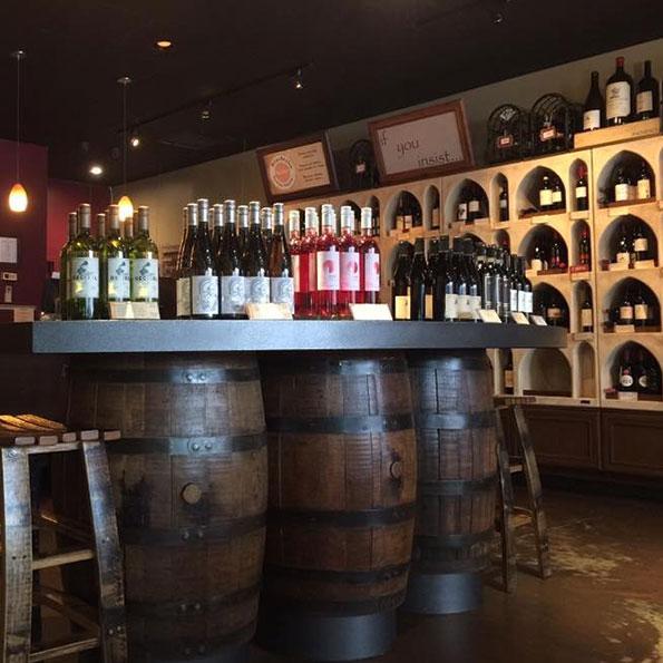 Montclair wine tasting interior