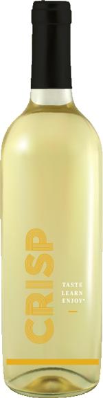 Crisp Wine Style bottle
