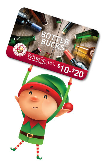Bottle Bucks Bonus Card Elf