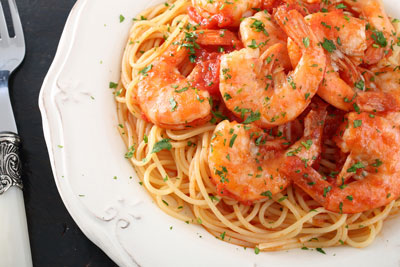 Seafood Capellini